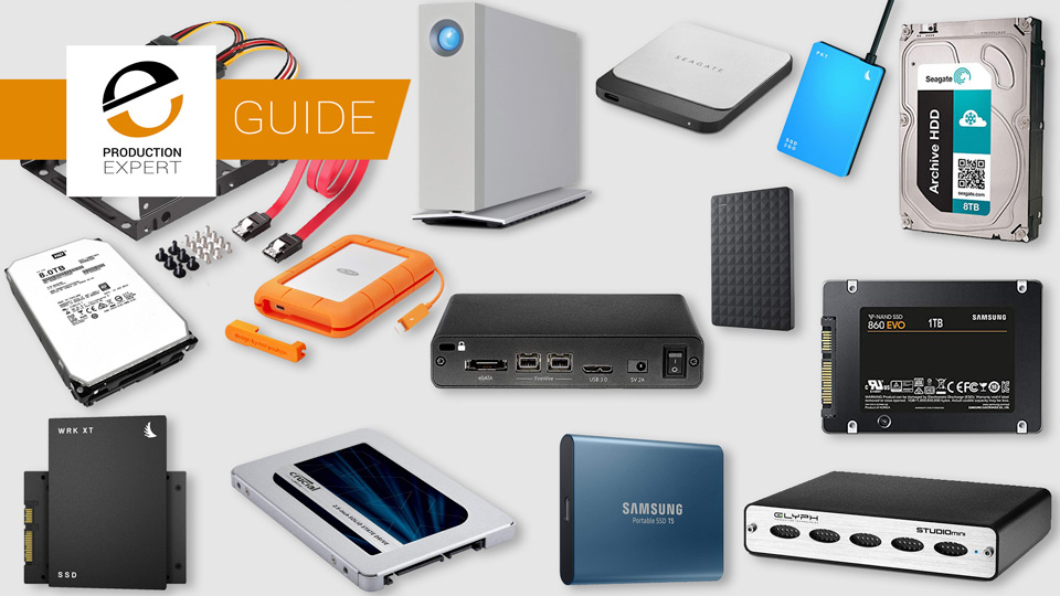 Buying Guide - Everything You Need To Know About Hard Drives For Digital Audio Workstations