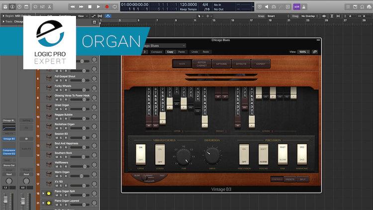 Vintage Organ Pack Presets From Sounds Famous  Logic's Vintage B3