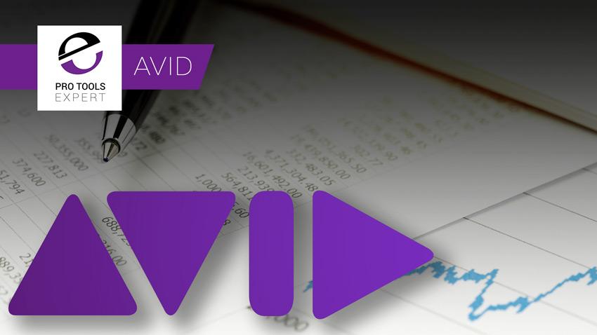 Avid Share Price Banner
