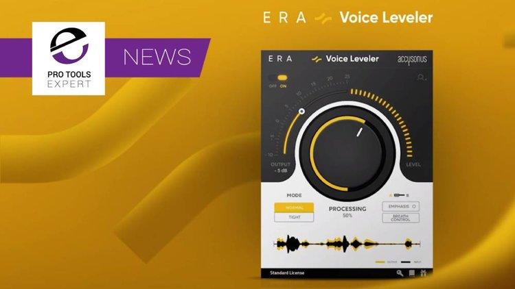 Download Free Accusonus ERA Voice Leveler Loyalty Gift Worth $59 For