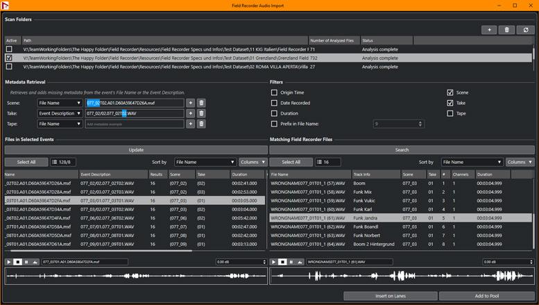 Nuendo 10 Field-Recorder-Audio-Import