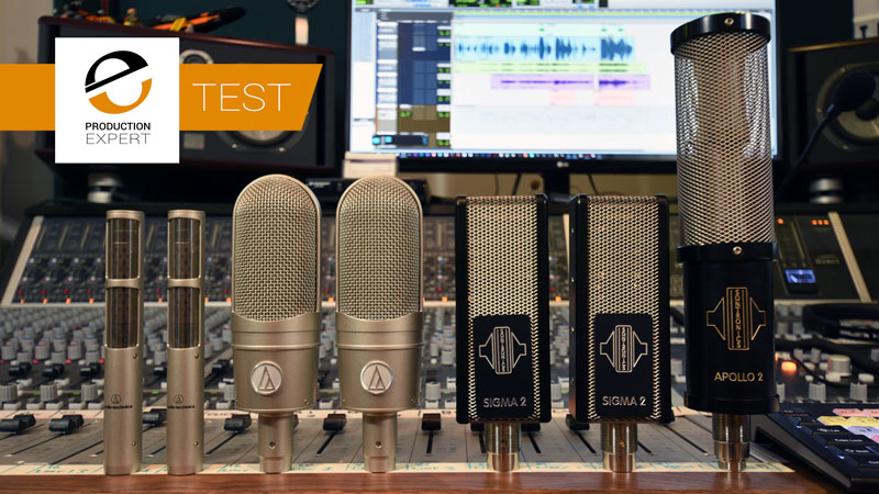 Vintage Ribbon Mics Are Often Used On Drum Overheads - We Try Some Of The Modern Alternatives