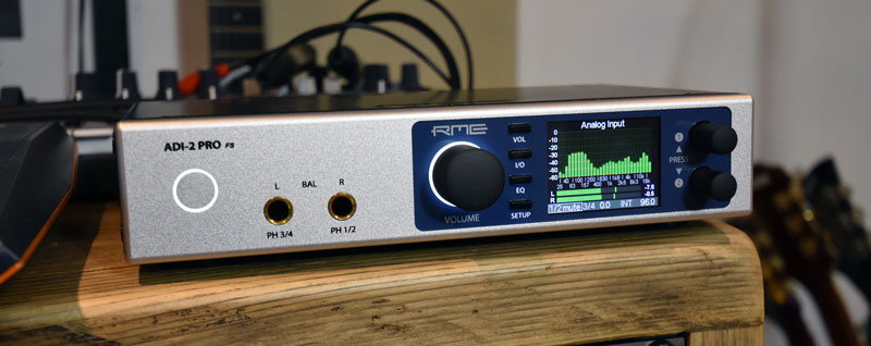 RME ADI-2 Pro Front Pannel