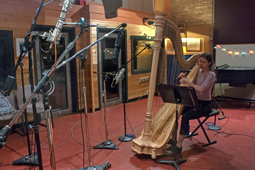 Recording-a-harp-with-spaced-omnis