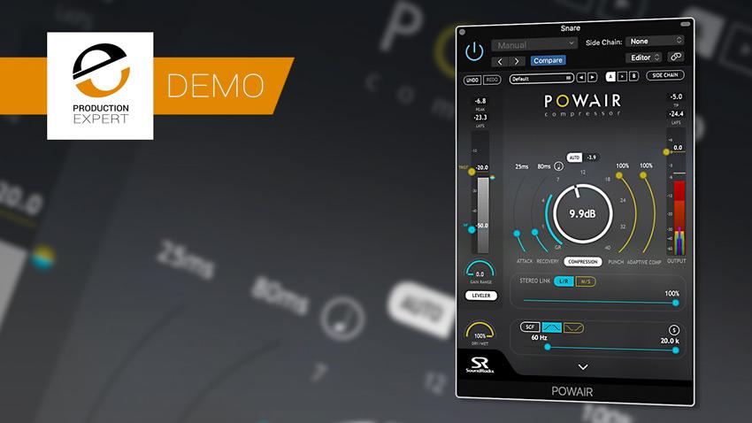 POWAIR Vocal Compression Demo Banner
