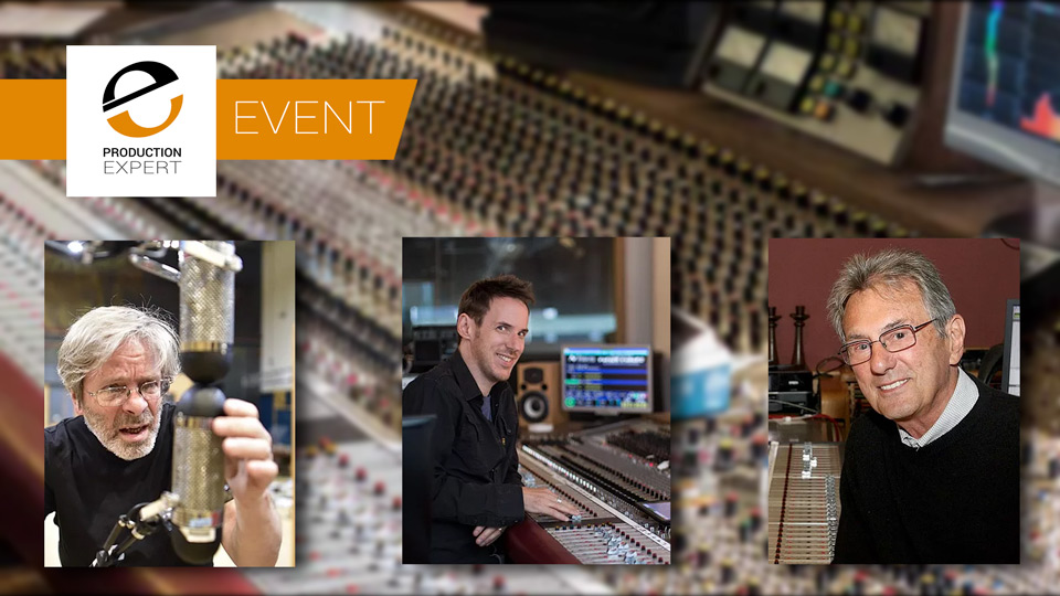 Learn From The Best - George Massenburg and Al Schmitt Teach At Acoustic Music Recording And Mixing Event In Basel Switzerland May 3rd To 5th 2019