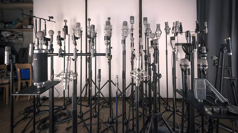 Daniel Dettwiler's Mic Collection