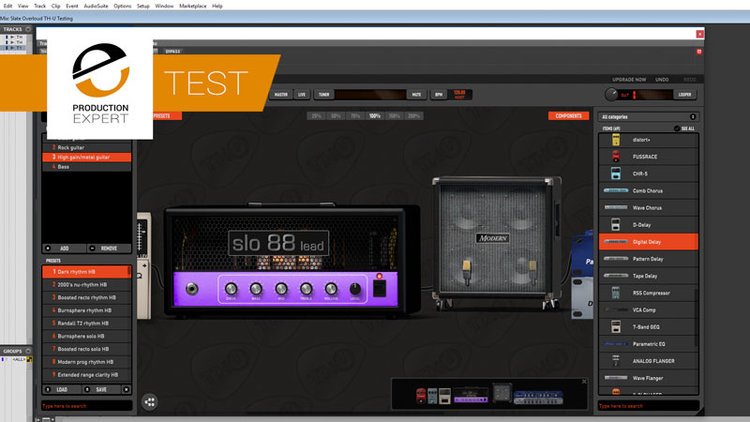 Slate Digital Add TH-U Slate Edition Guitar Amp & Effects Simulations By Overloud To The Everything Bundle