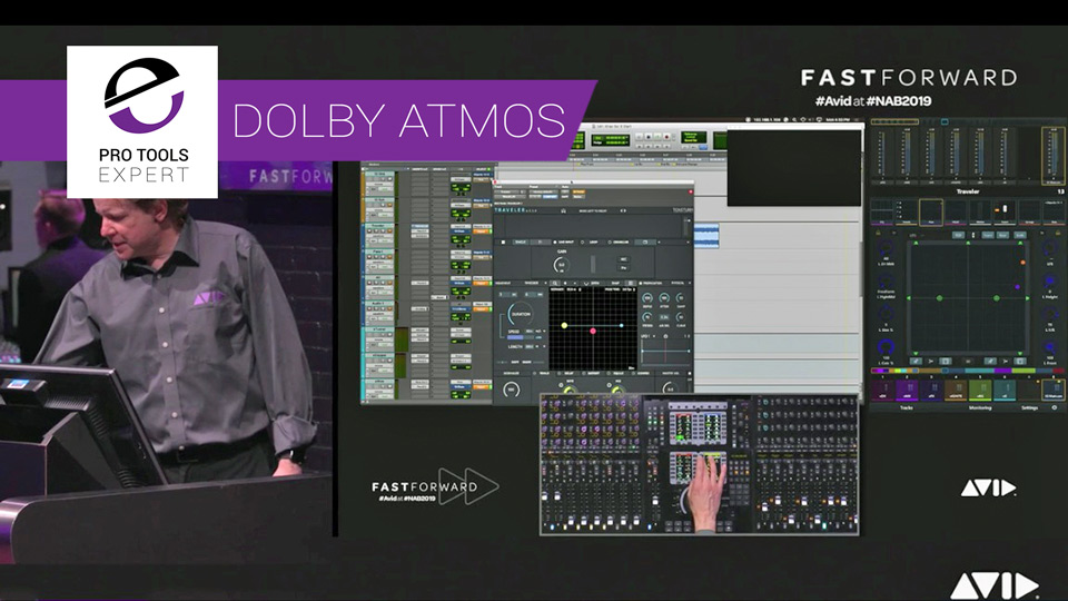 Mixing for Dolby Atmos - Learn How To Create Immersive Audio In Dolby Atmos With Pro Tools And An MTRX Interface