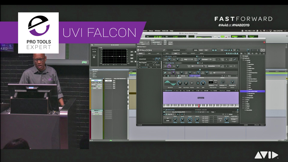 Sound Design with UVI Falcon for Pro Tools - Have You Tried It Yet?