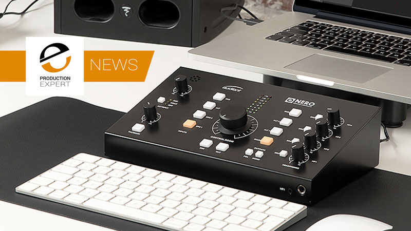 Audient Announce Nero A New Monitor Controller - It's Time To Take Control Of Your Monitor Speakers