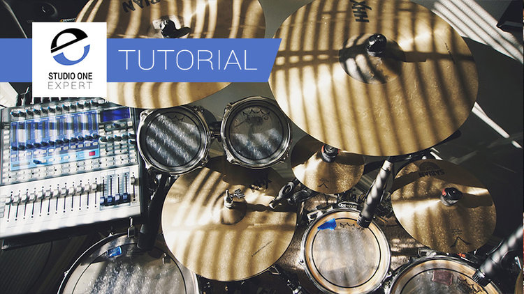 Mixing Drums In Studio One Using The PreSonus Plugins - Overheads