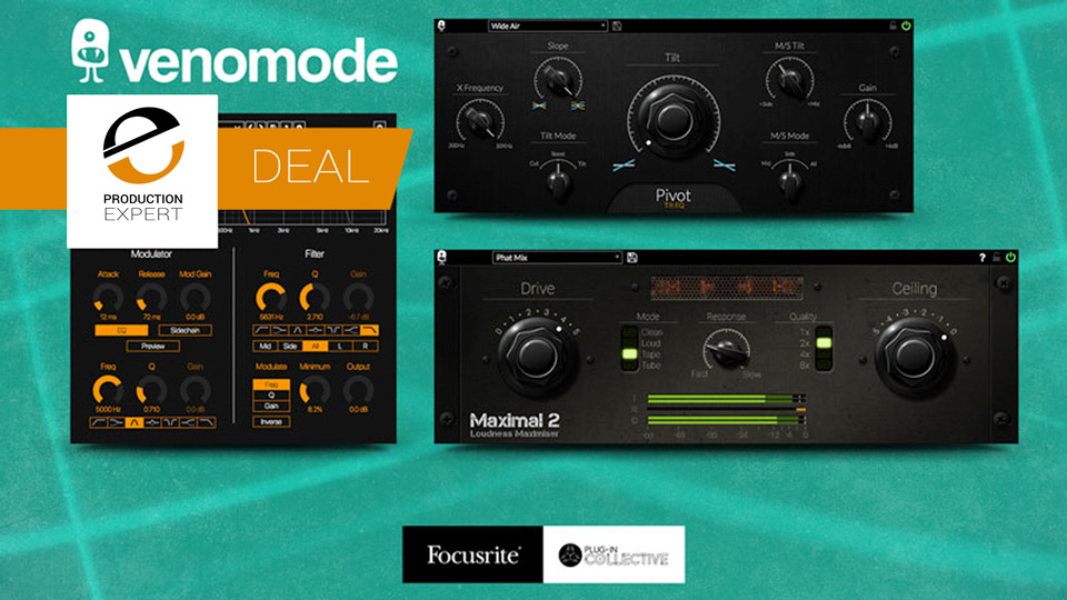 Focusrite Partner With Venomode For An Exclusive Plug-In Collective Member Offer