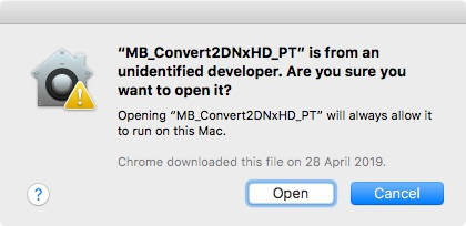 macOS 2nd Security warning