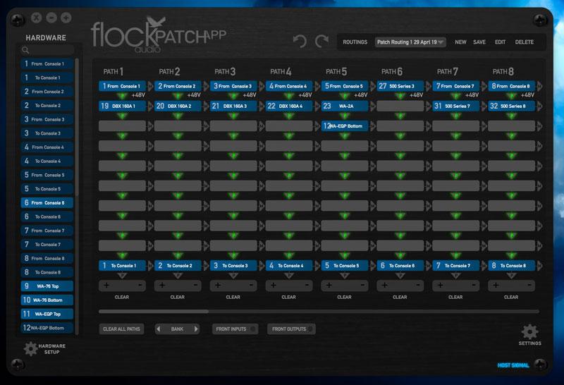My current Patch App configuration