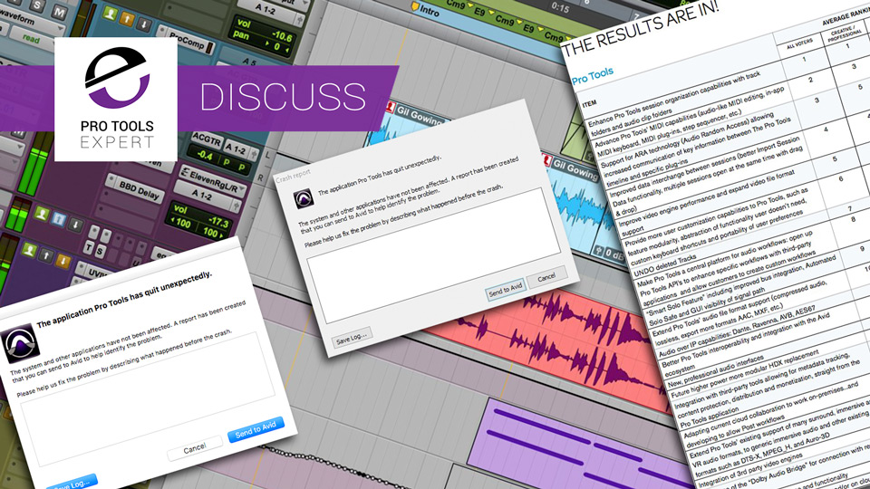 Would You Rather Have Bug Fixes Or New Features In Pro Tools? - Poll