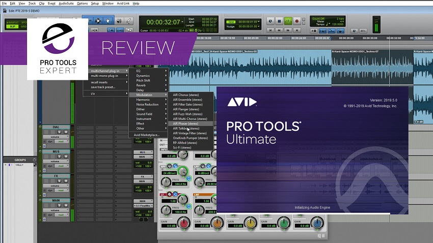 Pro Tools Ultimate, EuControl and Pro Tools Control 2019 5