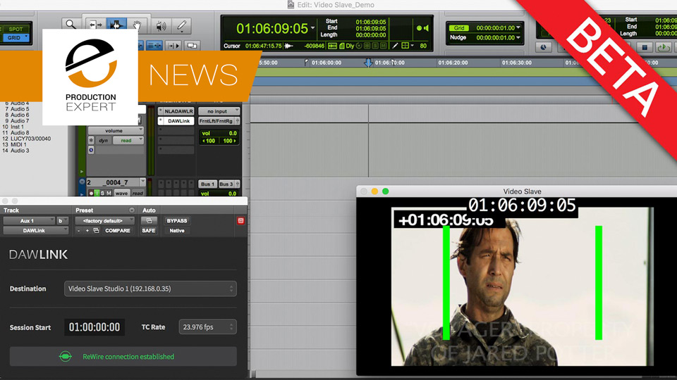 Use Video Playback With Your DAW? - Check Out The New Free DAWLink Solution From Non Lethal Applications