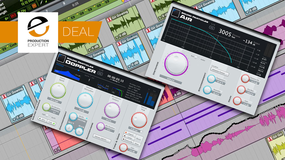 Avid Offer Doppler+Air From Sound Particles For $99 Which Is Half Price Until June 14th 2019