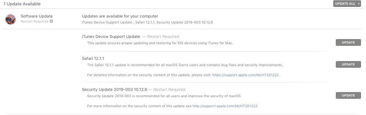 Apple Security Update 2019-003