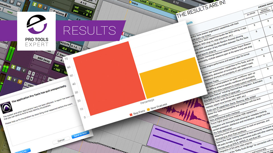 Bug Fixes Or New Features In Pro Tools - The Results