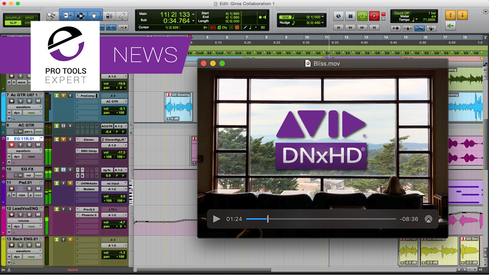 An Alternative To QuickTime 7 To Play Avid DNXHD Video Files