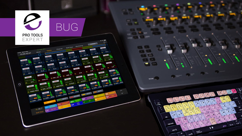 Avid Confirm Significant Bug In Pro Tools 2019.5 When Used With Pro Tools Control App