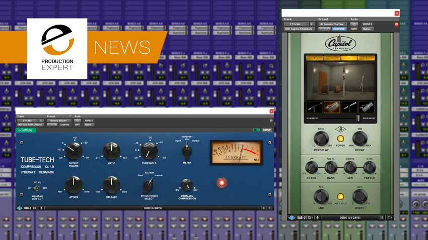 Universal Audio announce version 9.9 with update to the Tube-Tech CL-1B and the new Capitol Chambers plug-in.