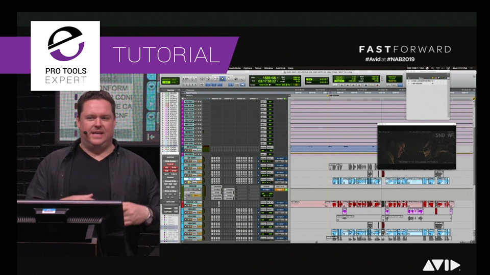 How To Create The Sound Of Venom From The Marvel Film - Sound Designer Will Files Shows How In This Free Tutorial From NAB 2019