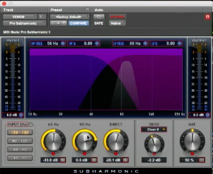 - Plug-in 8 Avid Pro Series Pro Harmonic