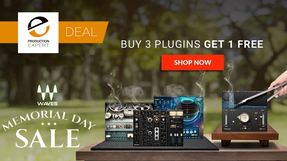 Waves Memorial Day Sale - Buy 3 Plug-ins And Get 1 Free Until May 27th 2019