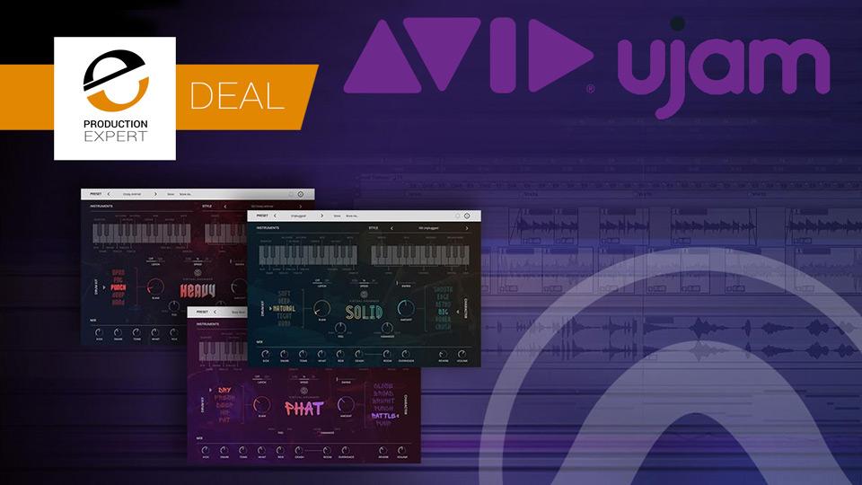 Avid Offer 60% Off UJAM Virtual Drummer Bundle Until June 7th 2019