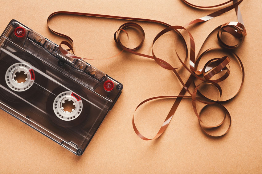 Never a happy ending for your latest moment of genius when the tape player chewed up the tape.