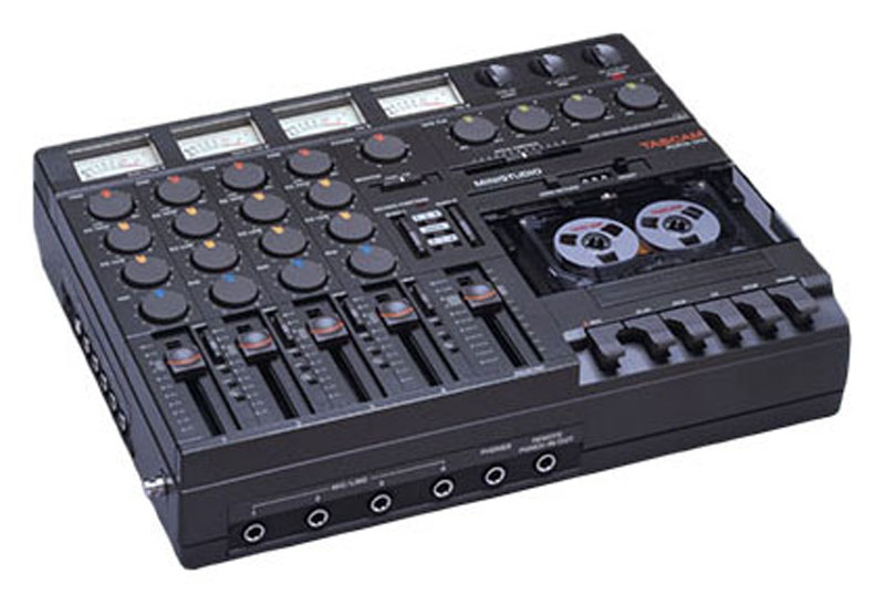 The Tascam PortaOne 4 Track from 1979.