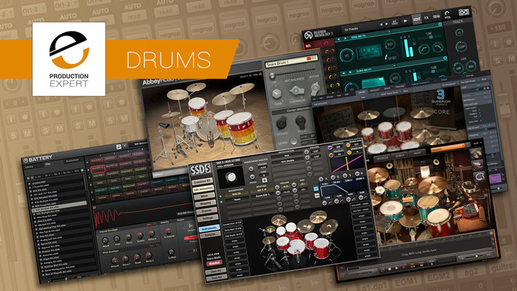 Our Pick Of The Best Drum Virtual Instruments, Libraries And Sample