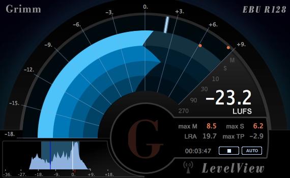 Grimm Audio levelview