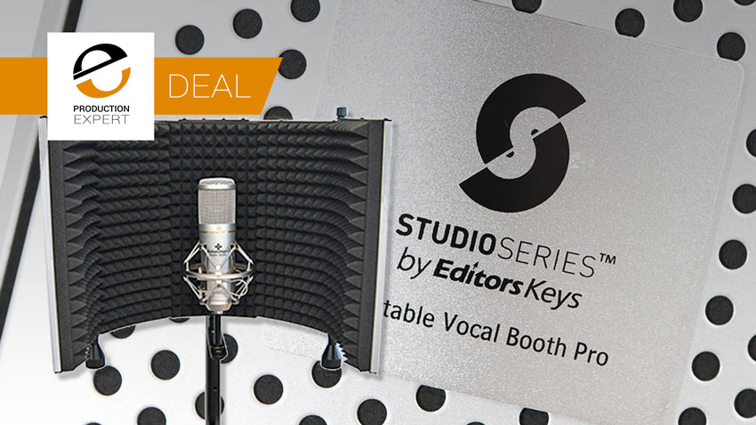 Vocal Booth Deal Banner