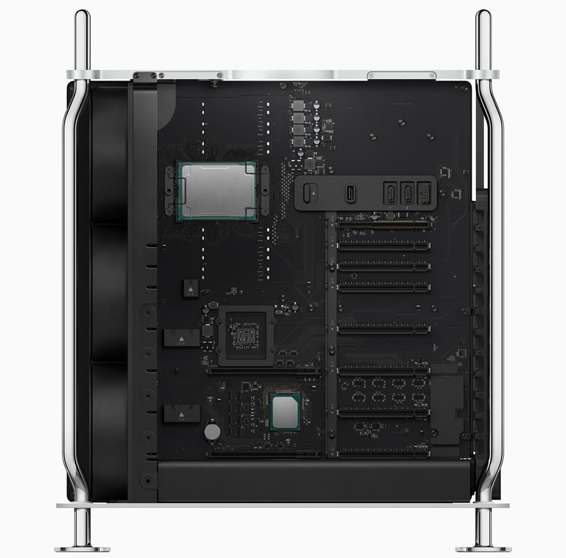 Mac Pro 7,1 side view