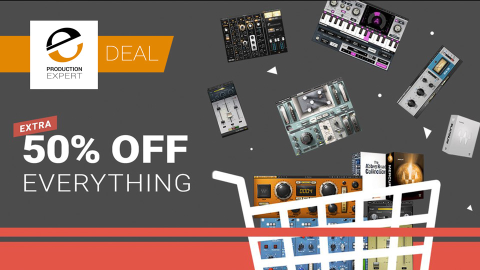 Wave Offering All Plug-ins, Bundles And Upgrades At Half Price For a Limited Period
