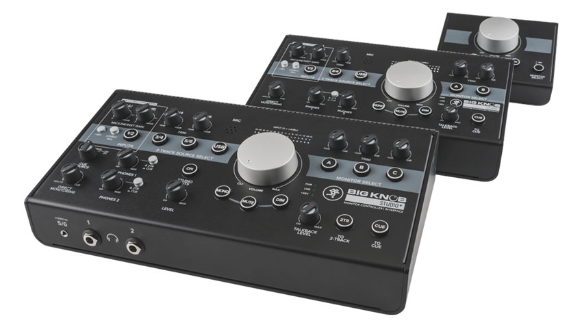 The Mackie Big Knob range of speaker controllers and interfaces.