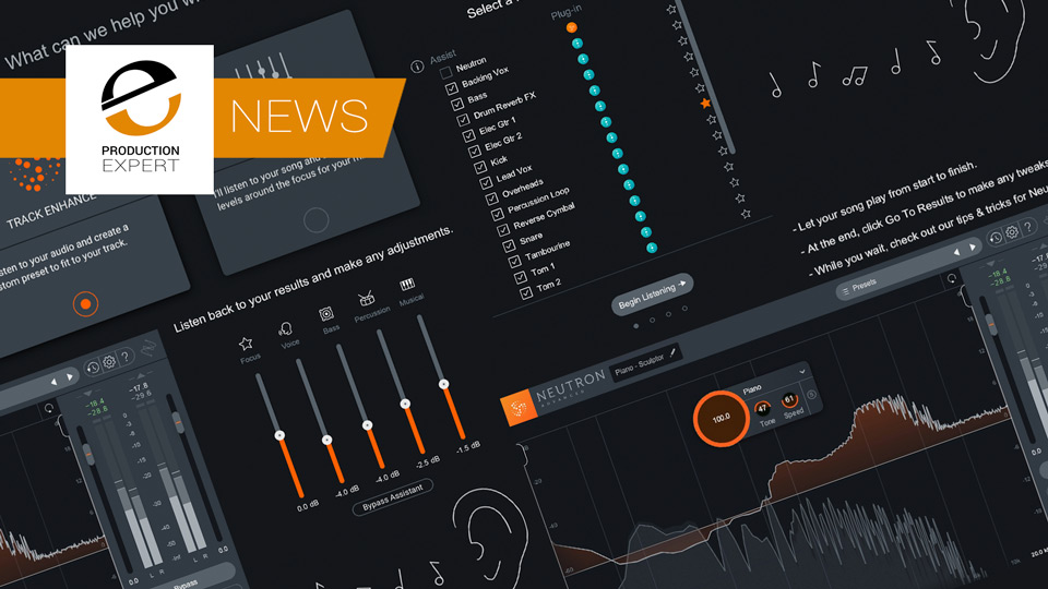 iZotope Release Neutron 3 With New Mix Assistant And Sculptor Module To Help You Setup Your Mixes