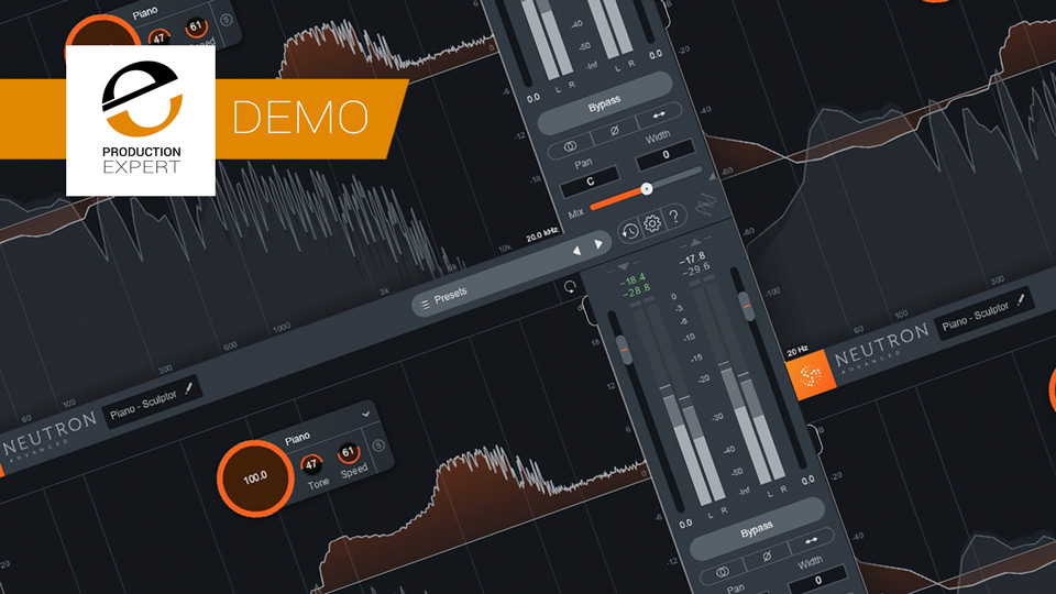 The new Sculptor Module in iZotope Neutron 3