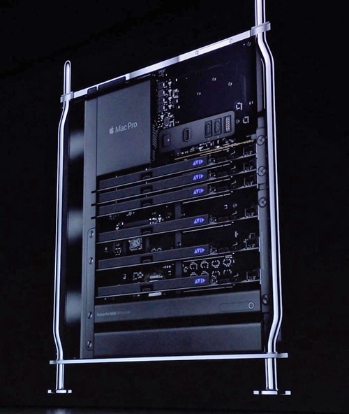 Mac Pro with 6 HDX cards