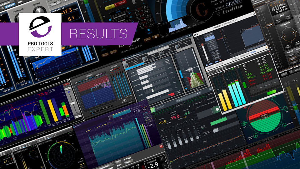 Pro Tools Compatible Loudness Meter Usage Trends - Have They Changed In 2 Years? - We Have The Results