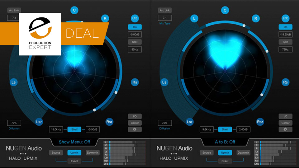 Avid Offer Halo Upmix From Nugen Audio At Half Price Until June 30th 2019
