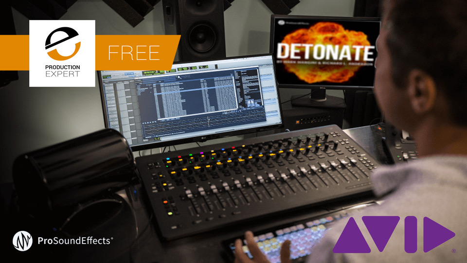 Complete This Avid Survey And Get Free Pro Sound Effects Sound Library Worth $49