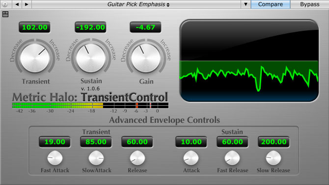 best transient designer shaper plug-ins to buy mix with MH Transient Control - Metric Halo.jpg