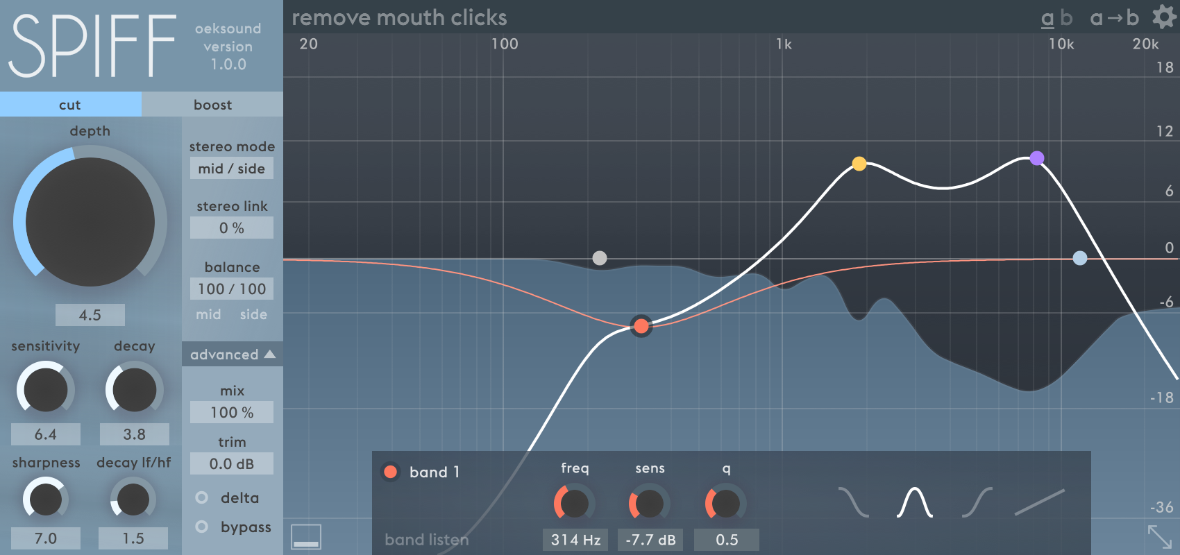 best transient designer shaper plug-ins to buy mix with Spiff - oeksound.png