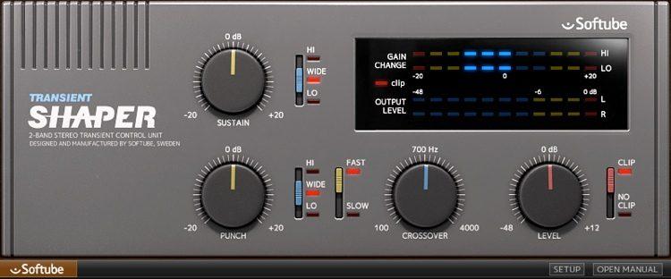 best transient designer shaper plug-ins to buy mix with Transient Shaper - Softube.jpg