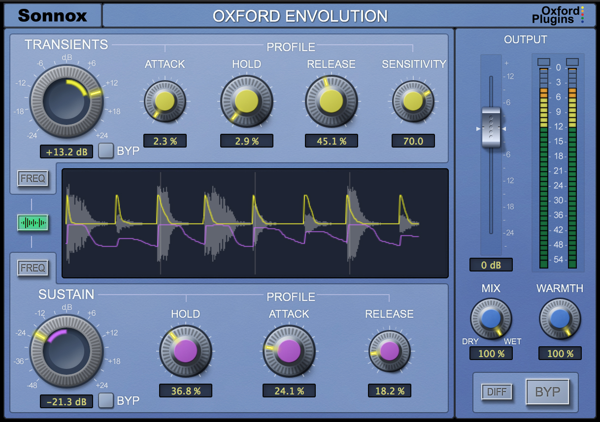best transient designer shaper plug-ins to buy mix with Envolution - Sonnox.jpg